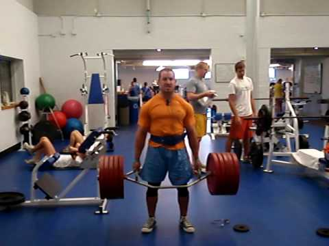 Trap Bar deadlift 500 x 20 Image 1