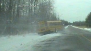 Minnesota School Bus Driver Loses Control During Medical Emergency