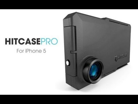 Hitcase Pro for Iphone 5 unboxing