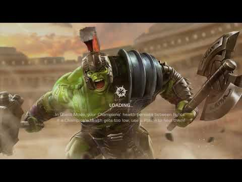 Gladiator Hulk Vs Blade | Marvel Contest Of Champions