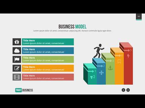 Amazing Modern PowerPoint Presentation - Trust Business