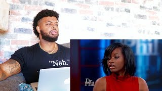 Dr. Phil - Black Girl Thinks All Black People Are Ugly And Believes She's White | Reaction