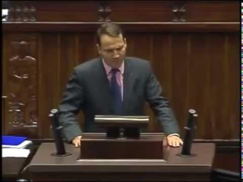 Radosław Sikorski z mównicy sejmowej obraża Naród Polski! [SZOK]