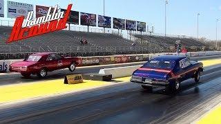 Chevy Chevelle Vs Buick Apollo Quarter Mile Gateway Motorsports Park