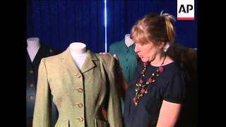 The fashions of World War II ahead of the 70th anniversary