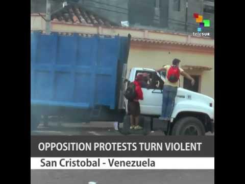 Opposition Violence in Venezuela