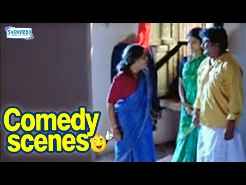 Kannada Hasya - Ajji In Between Married Couple - Kannada Comedy Scenes - Komal Kumar video