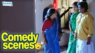 First Night Disturbed by Granny - Kannada Comedy Scenes - Komal Kumar