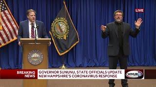 Full video: Governor, state officials give latest COVID-19 updates for New Hampshire (May 13, 2020)
