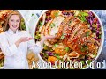 The BEST Asian Chicken Salad Recipe - with JUICY Teriyaki Chicken!!