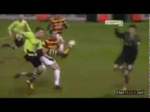Andreas Weimann goal vs. Bradford
