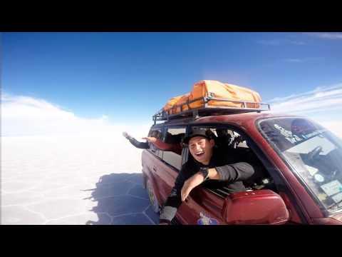 Salar de Uyuni, Bolivia - Selfie Time