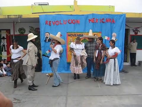 SKETCH DE REVOLUCION MEXICANA - JARDIN ASARCO