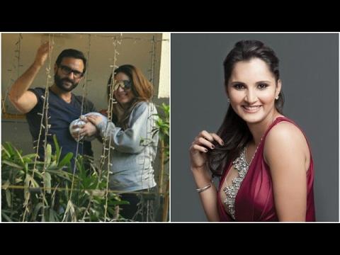 Kareena Enjoying The Role Of A Mother   Sania On Husband Shoaib