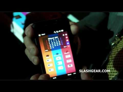 Toshiba TG01 - 3D GUI demo