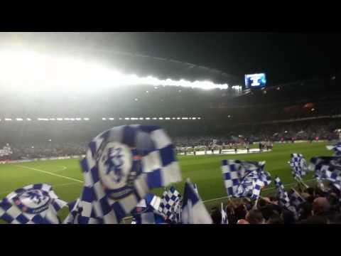 Chelsea 3-1 Napoli - Chelsea fans before the game