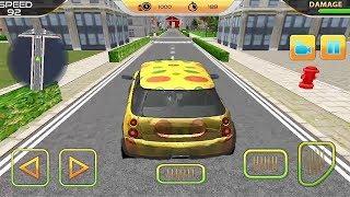 City Car Pizza Delivery Boy Game || Polka Dot Car Racing Games || Car Games 3D || Kids Games
