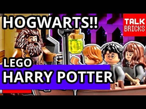 LEGO HARRY POTTER RETURNS!! Hogwarts Great Hall Set Revealed! Hermione! Ron! Dumbledore! & MORE!!