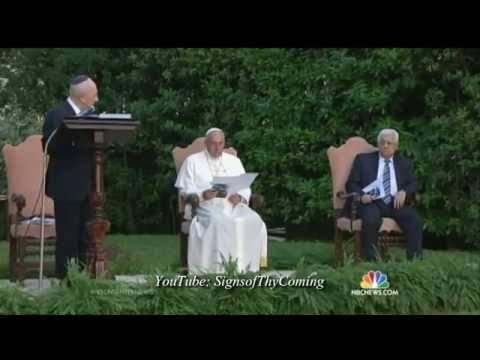 Mystery Babylon : The False Prophet hosts Islamic Prayer for Peace to the Beast (Jun 09, 2014)