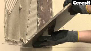 How to install natural stone tiles.