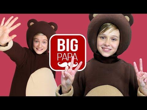 Big Papa Studio - Смешные Моменты - Три Медведя - Медвежий балет - Теремок запись и  Раскаяние Панды