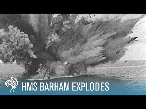 HMS Barham Explodes and Sinks (1941)