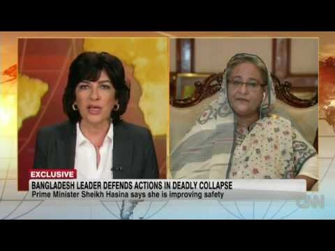 Sheikh Hasina's Interview with CNN, Christiane Amanpour
