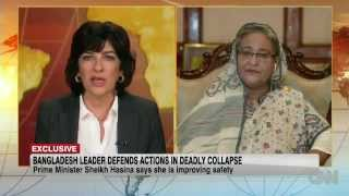 Sheikh Hasina's Interview with Christiane Amanpour, CNN