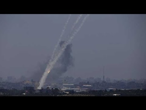 Hamas video shows rocket strikes on Israel nuclear facility