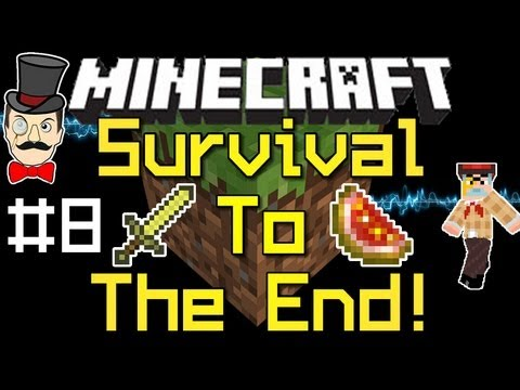 Minecraft SURVIVAL to THE END Playthrough PART 8 !