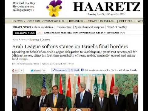 Prophecy Update: Arab League Softens On Palestine Borders! Is Middle East Peace Close?