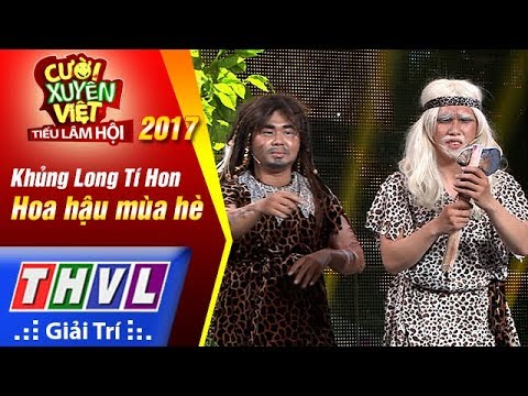 THVL   Cười xuyên Việt – Tiếu lâm hội 2017: Tập 4[1]: Hoa hậu mùa hè - Khủng Long Tí Hon   THVL