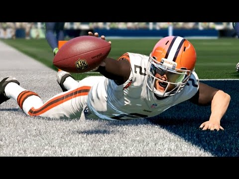 Madden 15 Next Gen Gameplay - Johnny Manziel Tries to Prove Critics Wrong in Seattle