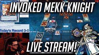 Yu-Gi-Oh! Mekk Knight Invoked Undefeated Live Stream (October 2018)