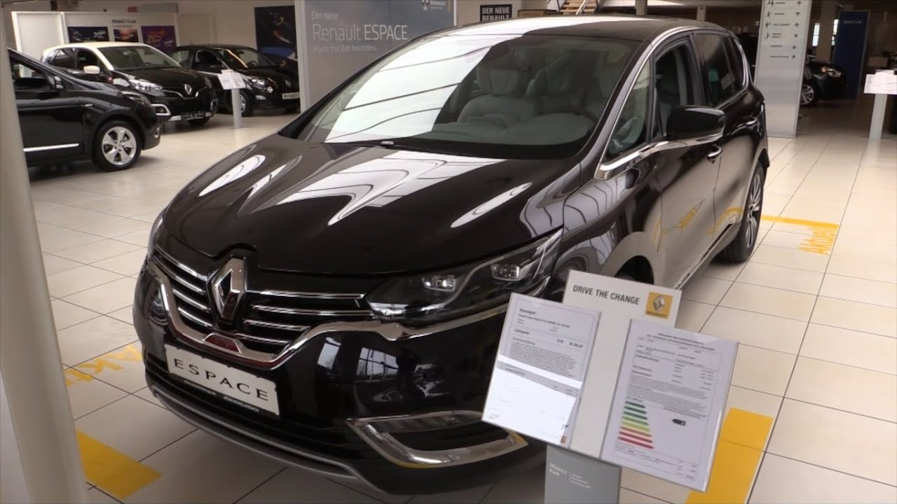 Renault Espace 2016 In Depth Review Interior Exterior ...