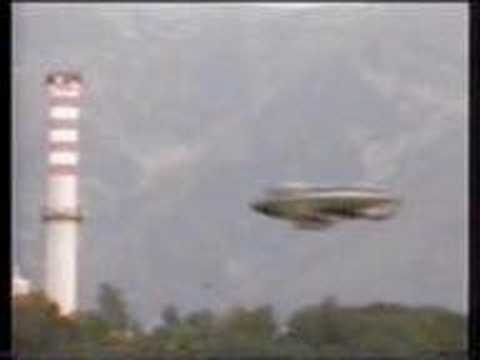 UFO Over A River In Italy