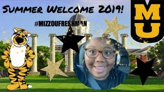 An INTROVERT vlogs her entire COLLEGE ORIENTATION trip // MIZZOU 🐯 #GOTIGERS