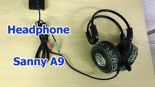 Headphone Sanny A9