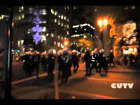 CUTV being attacked on the 7th June Night Demo