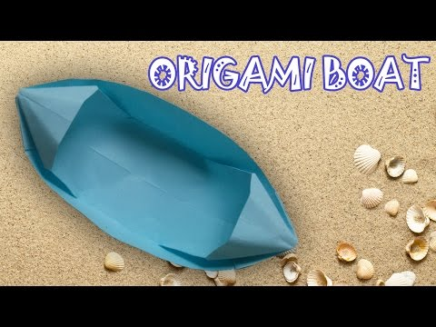 Origami Easy - Origami Boat Instructions