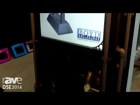 DSE 2014: Boyd Enclosures Presents Its Custom Dislay Enclosure Solution
