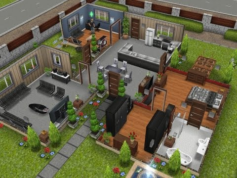 The Sims Freeplay- The Designer Home
