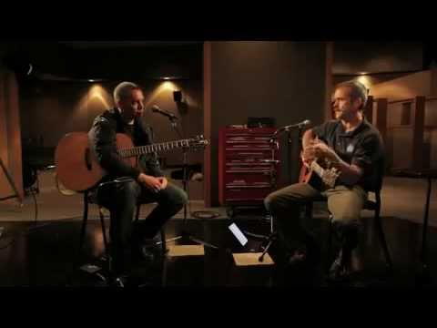 Ed Robertson and Astronaut Chris Hadfield Making Music
