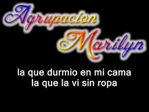 Agrupación Marilyn - No La Puedo Olvidar
