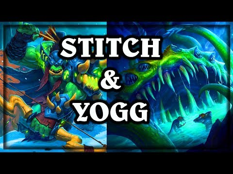 [Hearthstone]  Stitch & Yogg ~ Knights of the Frozen Throne Expansion