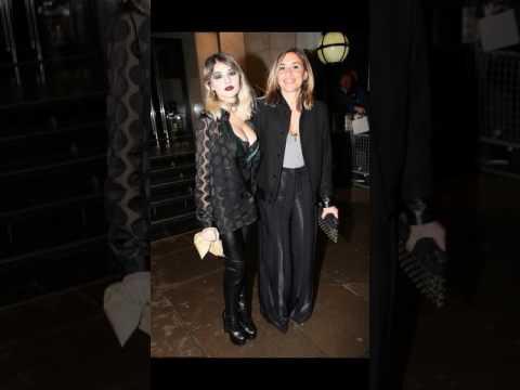 Melanie Blatt's daughter Lilyella Zender attend   premiere in London