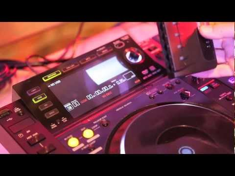 Pioneer CDJ2000 Ethernet Connectivity Demo - Studiocare