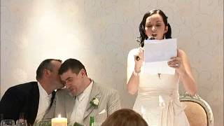 Funny brides speech ireland