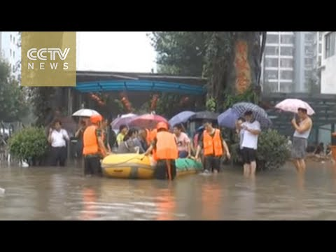 At least one dead, 34 missing as rain lashes Hebei Province