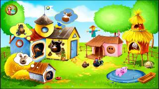 Cars toy videos for Children. Tayo Bus on Bridge, Train Rail on Sand. Songs for Kids   CityKid's